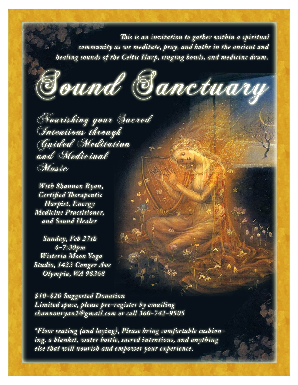 Sound Sanctuary Flyer